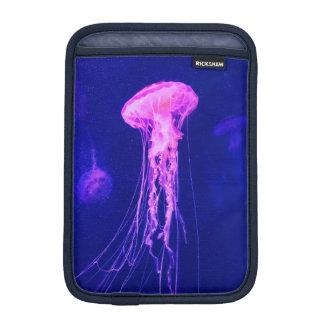 Neon Luminous Jellyfish iPad Mini Sleeve