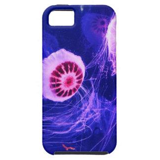 Neon Luminous Jellyfish iPhone 5 Cover