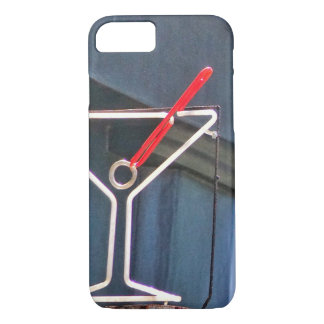 Neon Martini iPhone Case