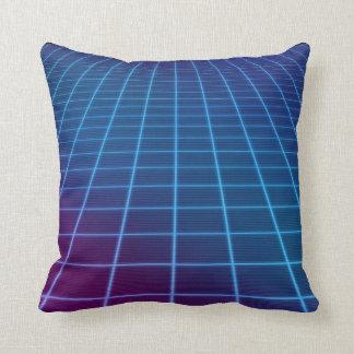 Neon Matrix Throw Cushion