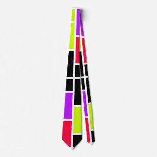 Neon Mondrian Tie
