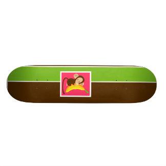 Neon Monkey Skateboard