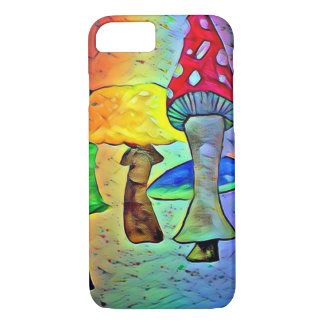 Neon Mushroom Phone Case
