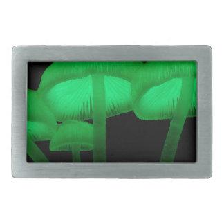 Neon Mushrooms Belt Buckles