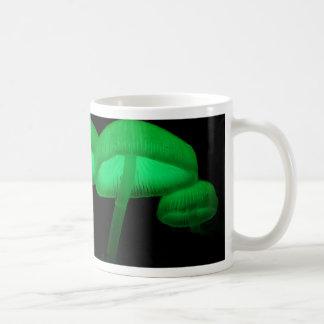 Neon Mushrooms Coffee Mug
