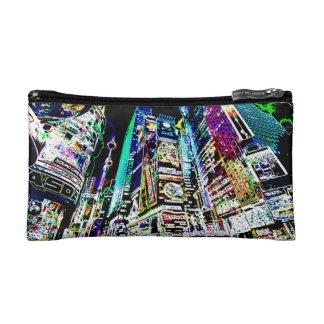 Neon New York City Cosmetic Bag