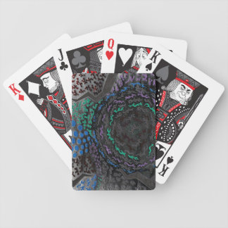 Neon Nightmare Poker Deck