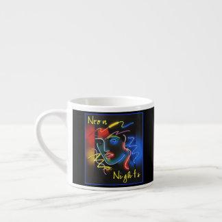 Neon Nights Espresso Cup