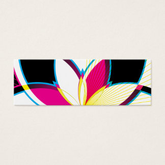 Neon Nights (Gift Tag) Mini Business Card