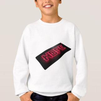 neon nope sweatshirt