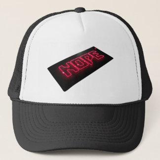 neon nope trucker hat