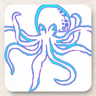 Neon Octopus Coaster