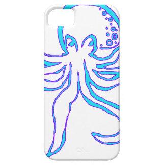 Neon Octopus iPhone 5 Case