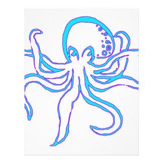Neon Octopus Letterhead