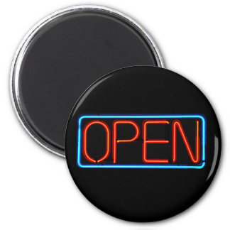 Neon Open Sign Magnet