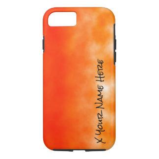Neon Orange Chemical Glow Look 2 iPhone 7 Case