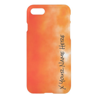 Neon Orange Chemical Glow Look 2 iPhone 8/7 Case