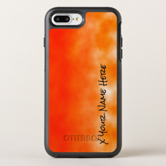 Neon Orange Chemical Glow Look 2 OtterBox Symmetry iPhone 7 Plus Case
