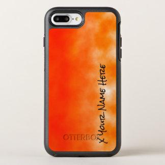 Neon Orange Chemical Glow Look 2 OtterBox Symmetry iPhone 8 Plus/7 Plus Case