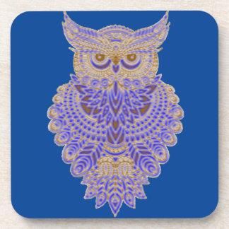 Neon Owl Coaster