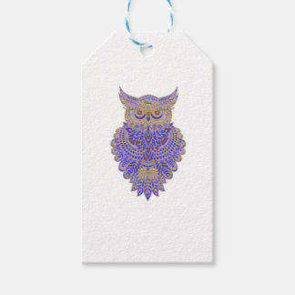 Neon Owl Pack Of Gift Tags
