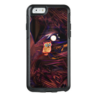 Neon Owl Thunderstorm Flash Fantasia OtterBox iPhone 6/6s Case
