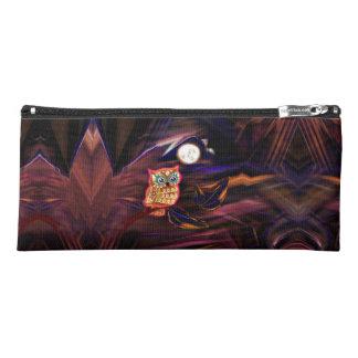 Neon Owl Thunderstorm Flash Fantasia Pencil Case