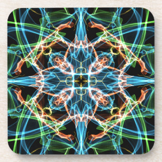 Neon Pattern Coaster