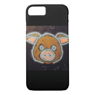 Neon Pig iPhone 8/7 Case