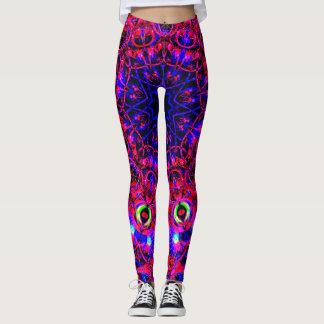Neon Pink&Blue Leggings