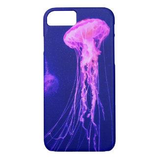 Neon Pink Jellyfish iPhone 8/7 Case