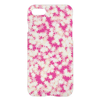 Neon Pink Lemon Cream Yellow Stars iPhone 8/7 Case