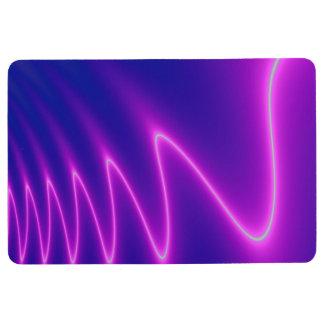 Neon Pink Lightning Floor Mat