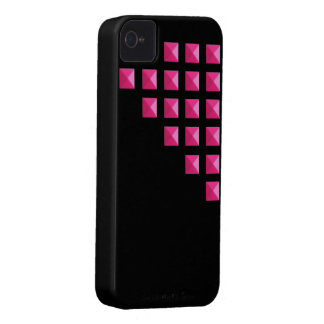 Neon Pink Pyramid Studs Case-Mate iPhone 4 Cases