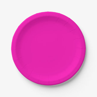 Neon Pink Solid Colour Customize It