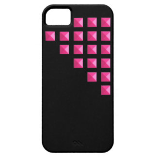 Neon Pink Studs iPhone 5 Cases