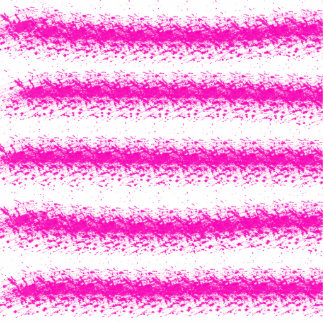 Neon pink watercolour stripes splatters standing photo sculpture