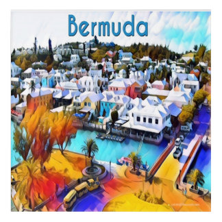 Neon Pop Art 4544 Bermuda