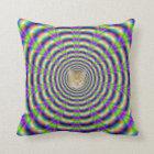 Neon Pulse Pillows + cat