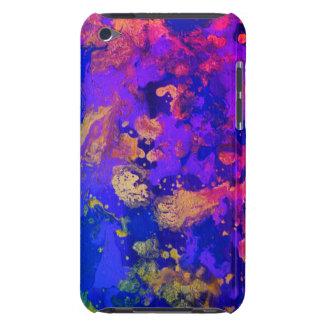 Neon Purple Haze iPod Case-Mate Case