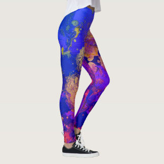 Neon Purple Haze Leggings