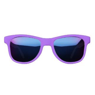 Neon Purple Solid Colour Customize It Sunglasses