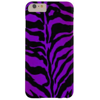 Neon Purple Zebra Animal Print iPhone 6 Plus Case