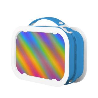 Neon Rainbow Gradient Lunch Box