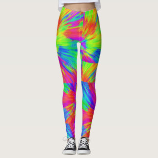 Neon Rainbow Leggings