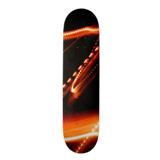 Neon Red and Orange 2 Skate Board Decks