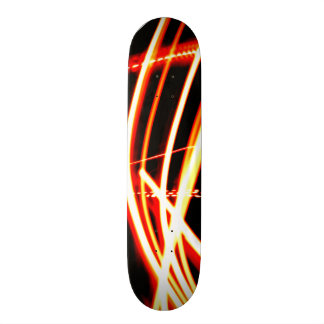 Neon Red and Orange Skateboard Decks