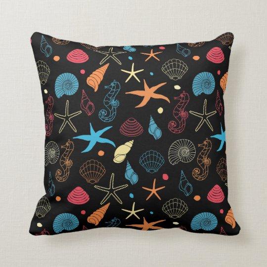 Neon Reef Pillow