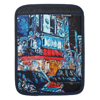Neon Reflections iPad Sleeve