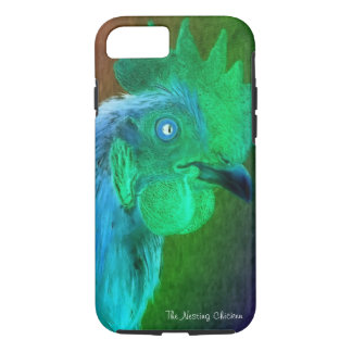 Neon Rooster Phone Case